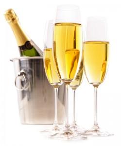 Big Apple Champagne and Sorbet